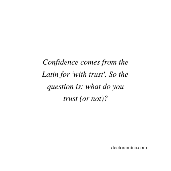 Why you don't need confidence or courage to create your authentic career [Wise Wednesdays]