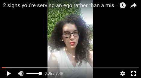 Are you serving a mission or serving an ego? Social exclusion, fantasy and simple kindness.