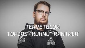 """Topias """"Kuhnu"""" Rantala aloittaa SJ Esportsin Team & Event Managerina."""