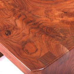 Walnut Table Figure Detail