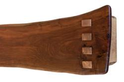 Maple Through Tenon Detail