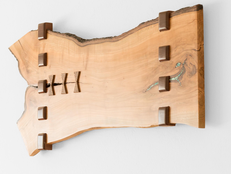Wood Inlay Wall Art