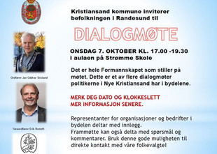 Dialogmøte med kommunen 7. okt