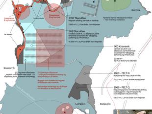 Tåler Korsvikfjorden nye utfyllinger og 200% økning av antall båtplasser?