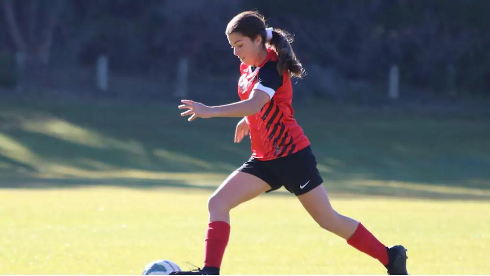 Redbacks soccer player Tiahna Atkins