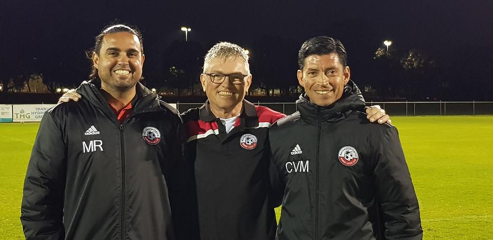 Picture of Michael Rosa, Tony Mullen and Carlos Vega Mena
