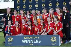 U14's Top 4 Winners.JPG