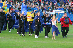 Gothia Cup march past
