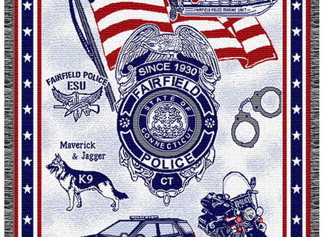Police and Fire Department Fundraising with Custom Throw Blanekts