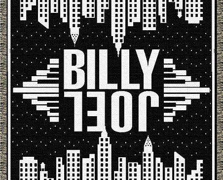 Billy Joel Custom Throw Blanket