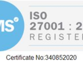 ISO27001 is in the bag!