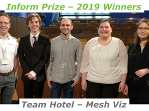 Intelligent Plant sponsor the Inform Prize 2019