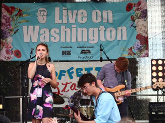 The Left Lanes Performing at Live on Washington 2018