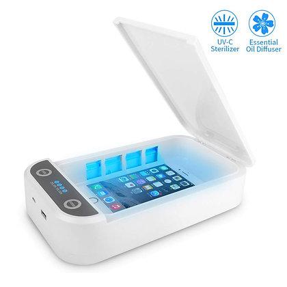 Swisstek UV-CLEAN - 2 in 1 Medical Grade UV-Light Device Sanitizer & Charger
