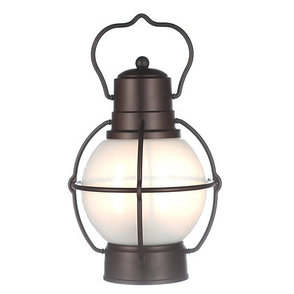 Decorative LED Hanging Lanterns- Set of Four Indoor/Outdoor Lights- LED Vintage