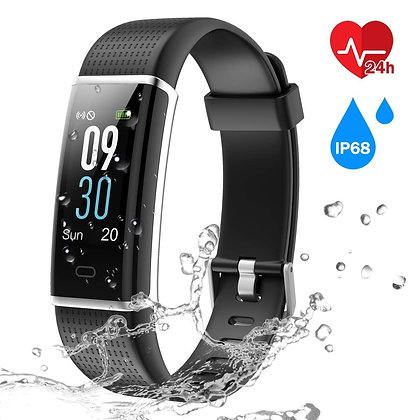 ActivePro - Fitness Tracker with Heart Rate Monitor - Color Screen