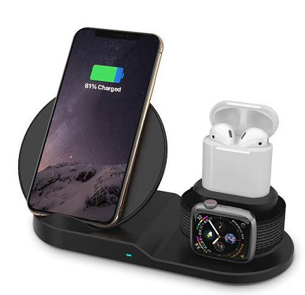 AirDock 3-in-1 Wireless Charging Station
