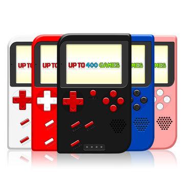 SwissTek Retro Go! Portable Gaming Console w/ 400 Games