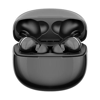 SwissTek - True Wireless Bluetooth Earbuds w/ Charging Case and Wireless Chargin