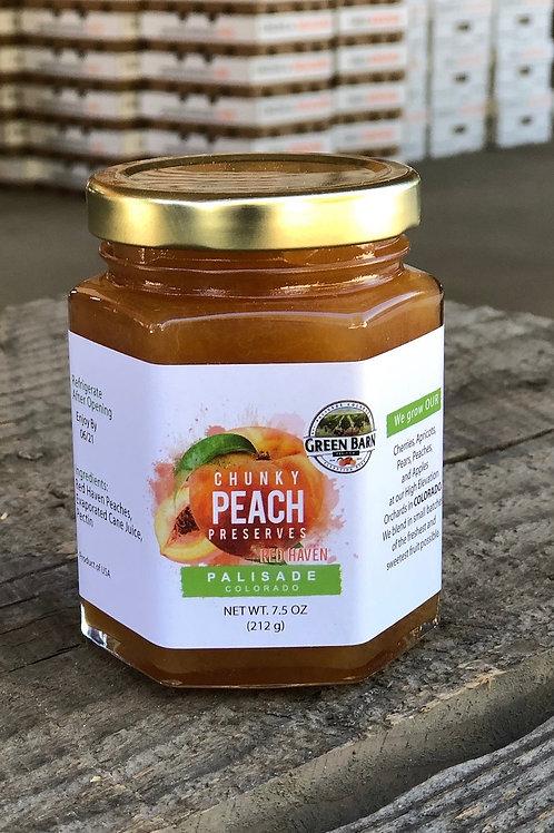 Colorado Peach Preserves 7.5 oz Jar