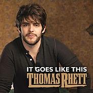 Album cover of Thomas Rhett. Guitar lessons instructor, Derek Williams performed with Thomas Rhett on his first two tours.