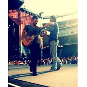 Derek Performing at the Tennessee Titans stadium