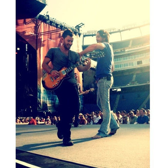 Derek Performing at the Tennessee Titans stadium