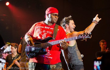 Pictured with Myron Howell and Parmalee