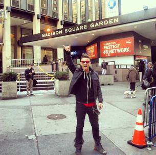 Derek Performing at Madison Square Garden