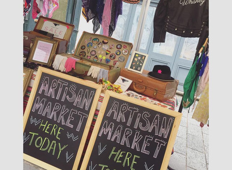Our first ever artisan market!