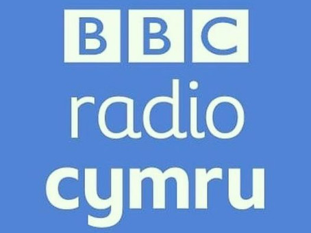 Thanks for having us BBC Radio Cymru!