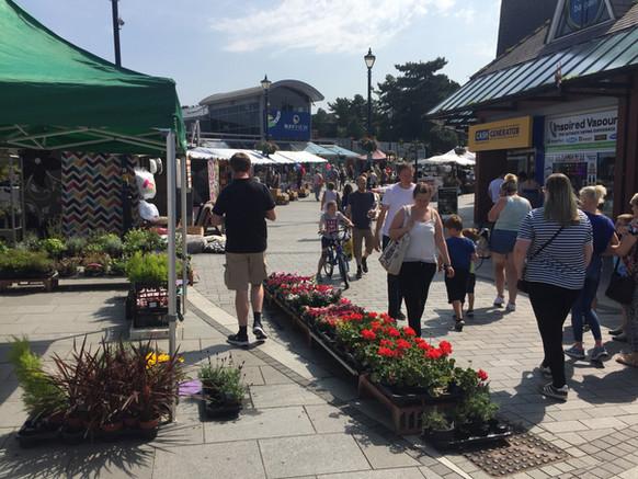 north wales market, colwyn bay