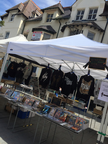 Colwyn Bay local market stall
