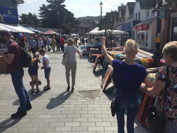 colwyn bay local market day