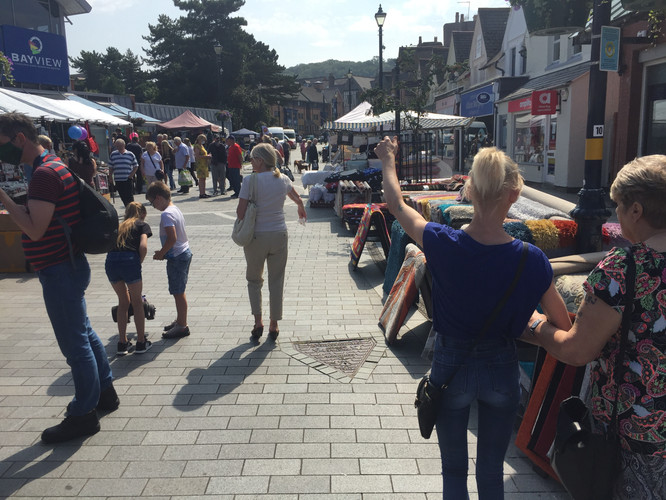 colwyn bay local market day