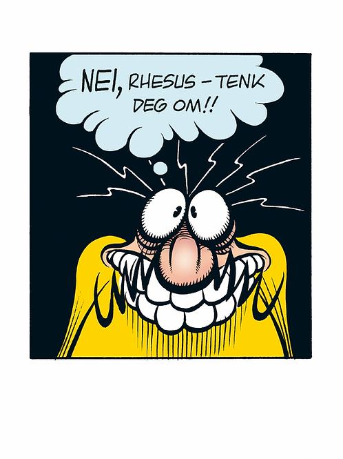 TENK! - A3 - Begrenset opplag - 20 stk - Signert
