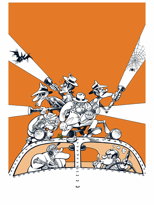 Høggilack - Oransje serie - Begrenset opplag  - 25 stk - Signert