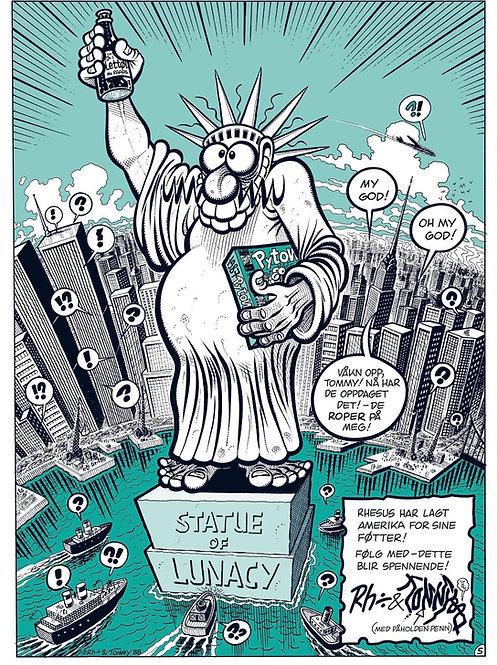 Statue of Lunacy - Grønn - Begrenset opplag - 25 stk -Signert