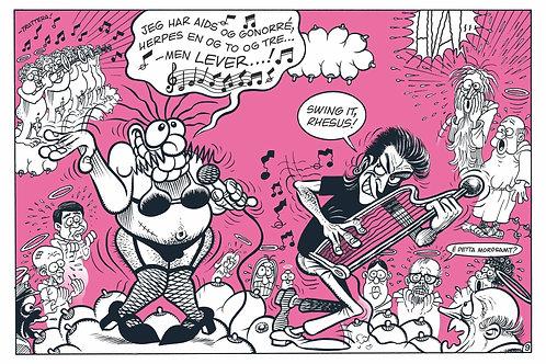 I Himmelen - Rosa serie - Begrenset opplag - 20 stk - Signert av Tommy Sydsæter