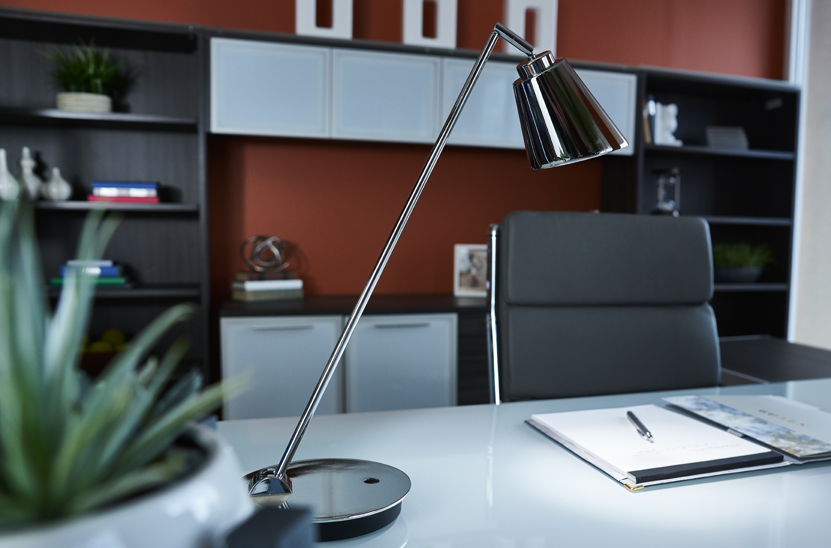 OttLite WorkWell Amplify Desk Lamp