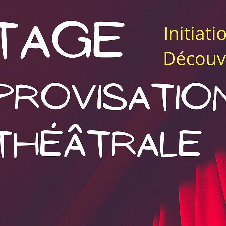 Stage impro Initiation et découverte