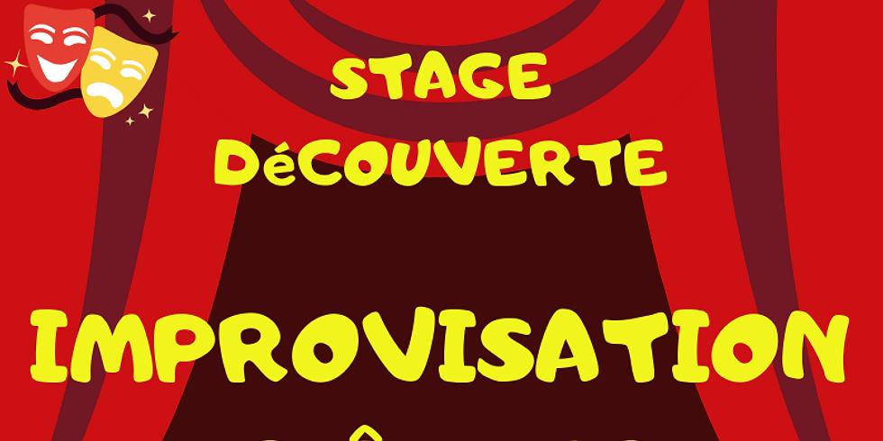 Stage Découverte Improvisation