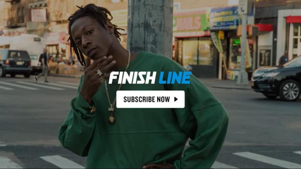 Joey Bada$$ for Adidas X Finish Line