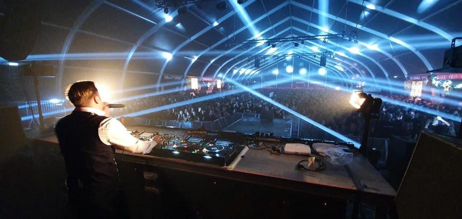 DJ licht geluid lasers