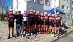 Apoio Equipa de ciclismo de formação