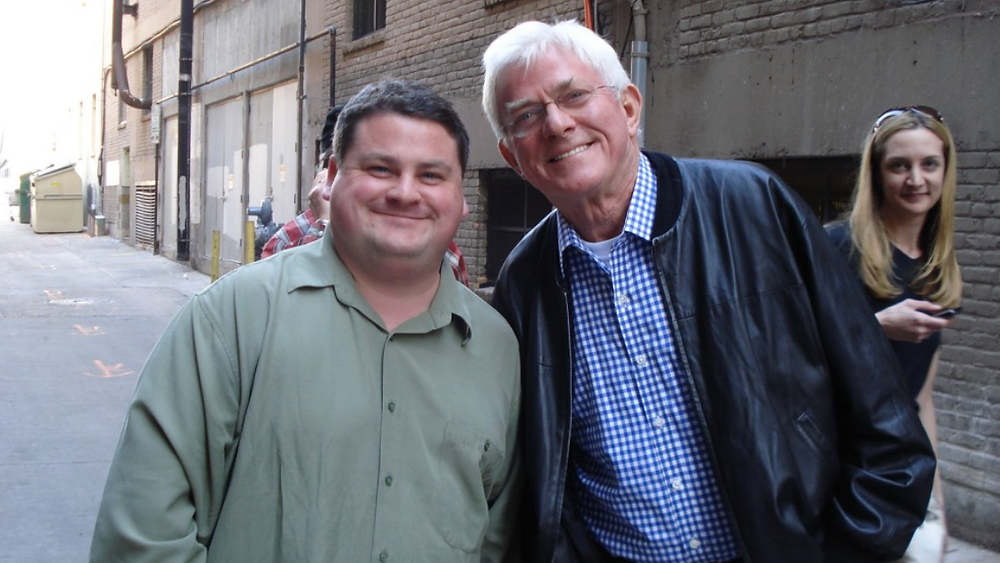 Jay Carter and Phil Donahue