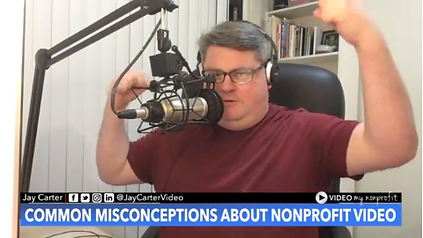 VMNP 001 - Biggest Misconceptions About Nonprofit Video