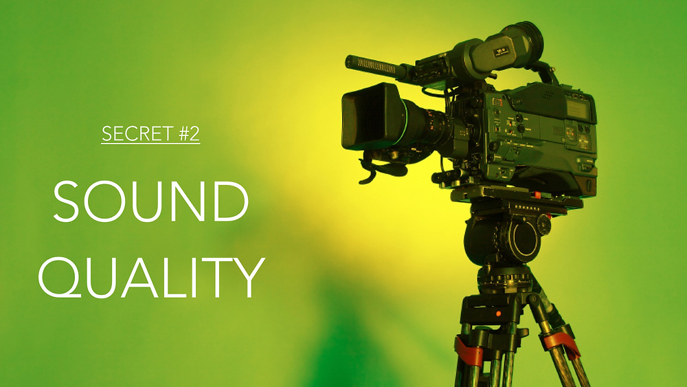 Sound Quality is More Important than Video Quality