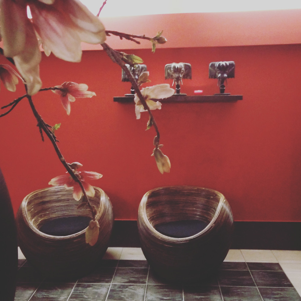 Entspannt im Wellnessbereich im Van der Valk Resort Linstow