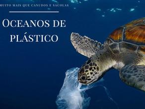 Oceanos de plástico: muito mais que canudos, sacolas e glitter